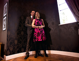 Winter Engagement Photographer at Prested hall