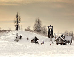The Discovery Centre & Great Notley Bowl Winter Photography