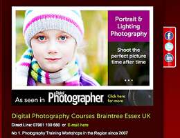 Digital Photography Training – Essex, Suffolk, Herts, Cambs
