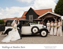 Sample Wedding Album – Maidens Barn