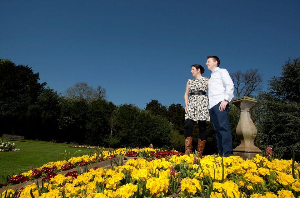 Engagement Photography Hylands House: Jacqui and Craig