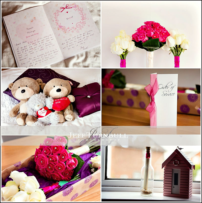 Bridal Prep Wedding Details