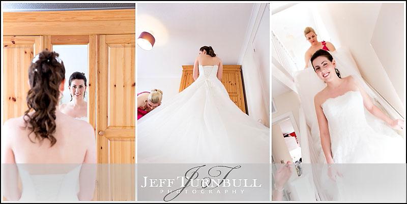 Wedding Dress Details by Jeff Turnbull