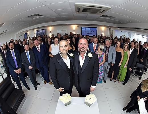 Altitude 360 Same Sex Wedding Photography – Mark & Darren