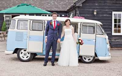 VW Campervan Wedding The Compasses