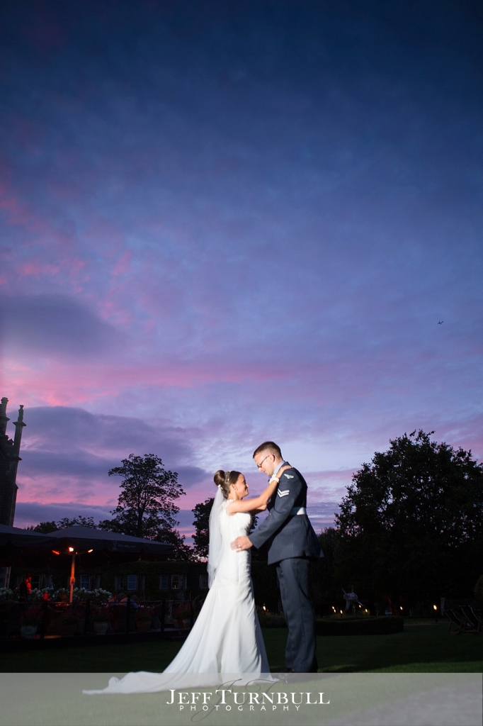 Oakley Court Hotel wedding