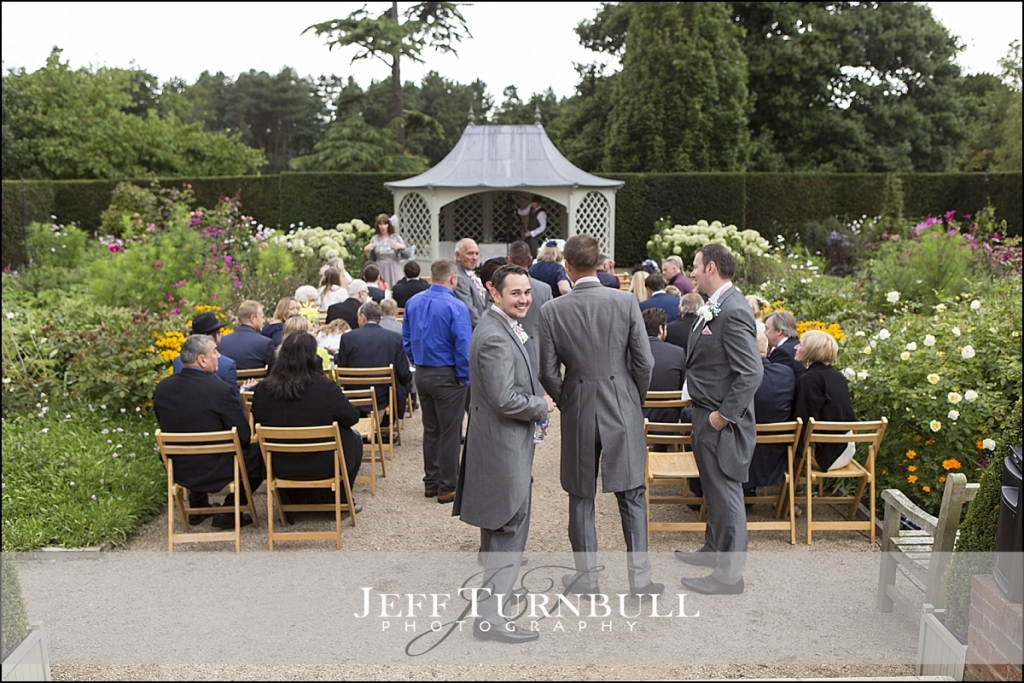 Wedding Ceremony at Marks Hall