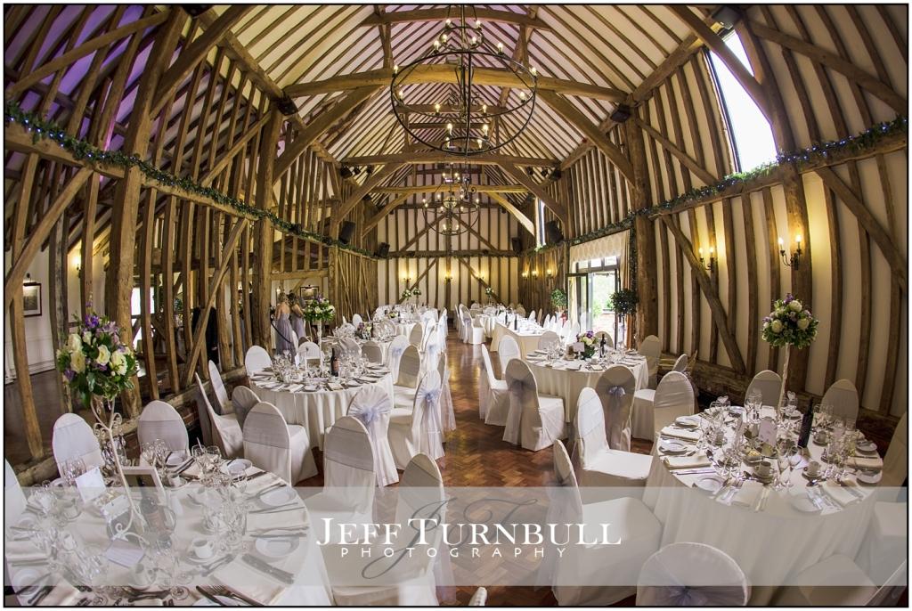 Inside The barn At Crondon Park