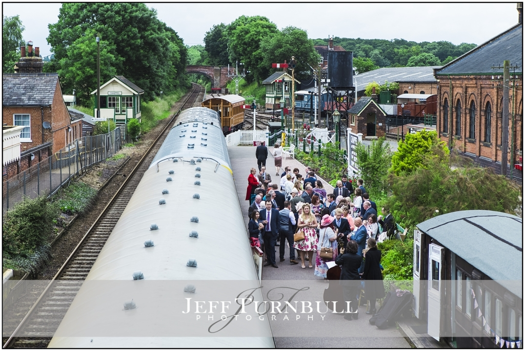 East Anglian Railway Museum Wedding