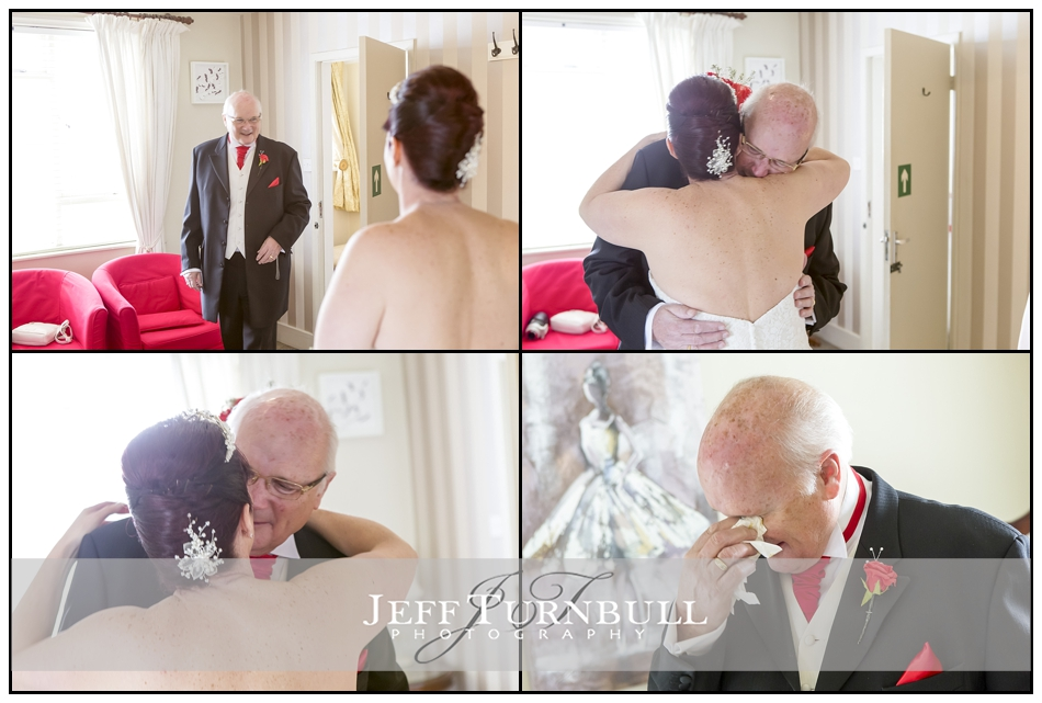 Father of the Bride moment