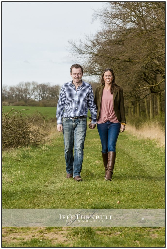 Engagement Shoot Hertfordshire Woodland
