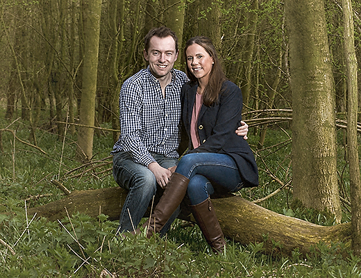 Engagement Shoot Hertfordshire Woodland – Rachel & Mitch