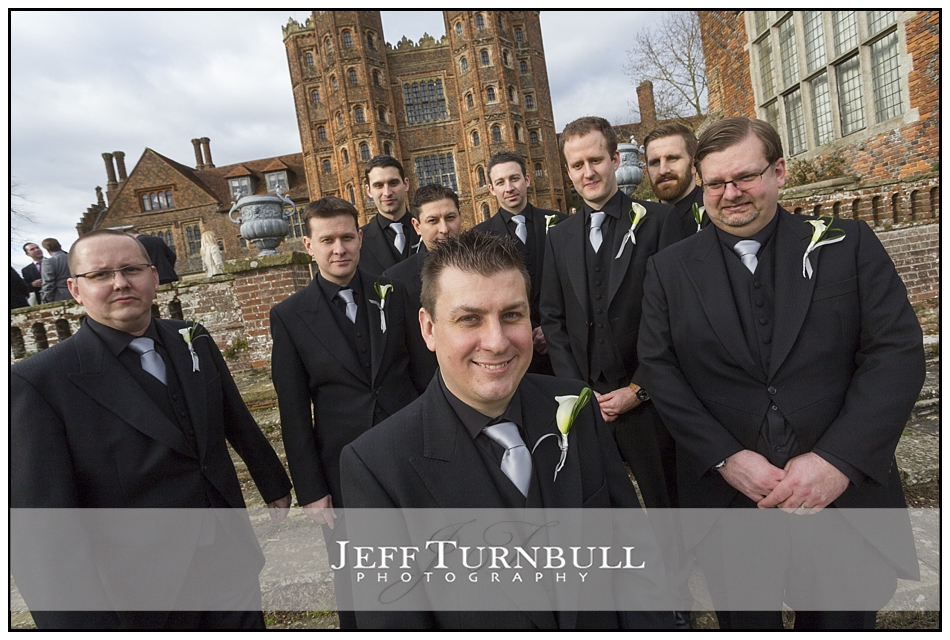 Groom Ushers at Layer Marney Tower