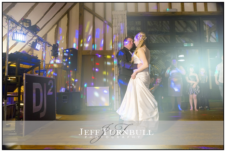 First Dance The Barn Brasserie Great Tey