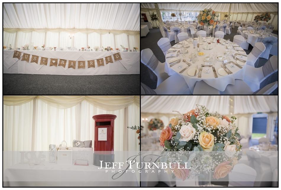 Wedding Breakfast Details Pontlands Park