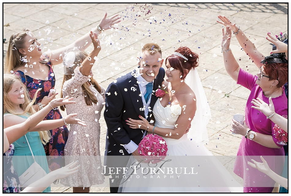 Confetti All Saints Hotel Wedding Photography