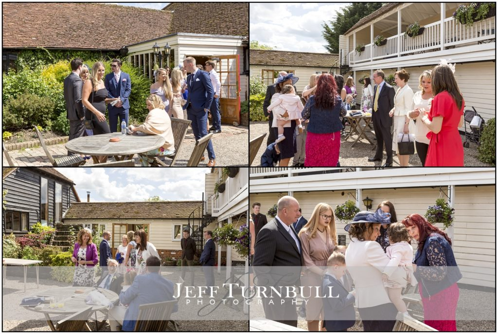 Wedding Guests at The Reid Rooms