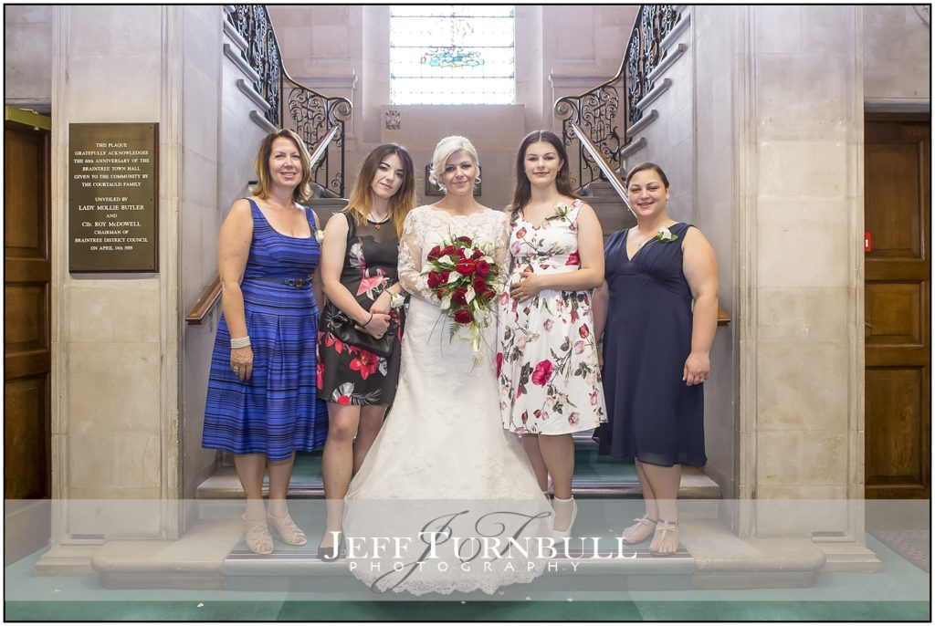 Bridesmaids Braintree Town Hall