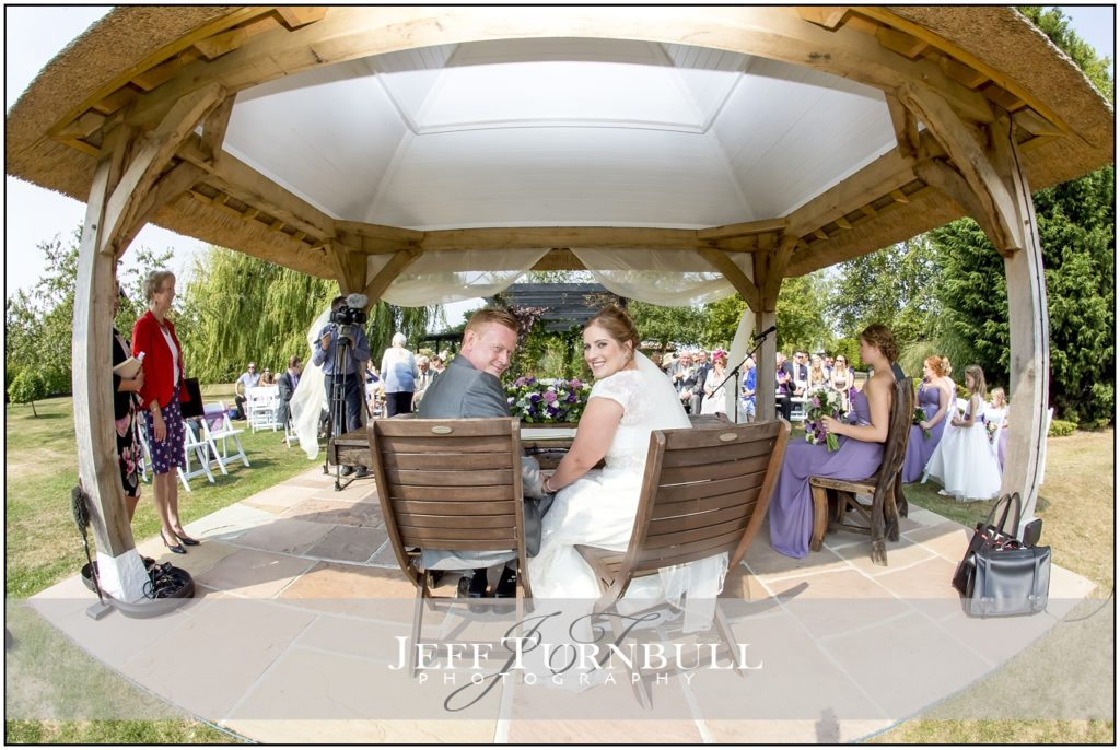 Bride and Groom High House Weddings