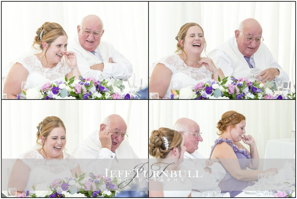 Bride and Father High House Weddings