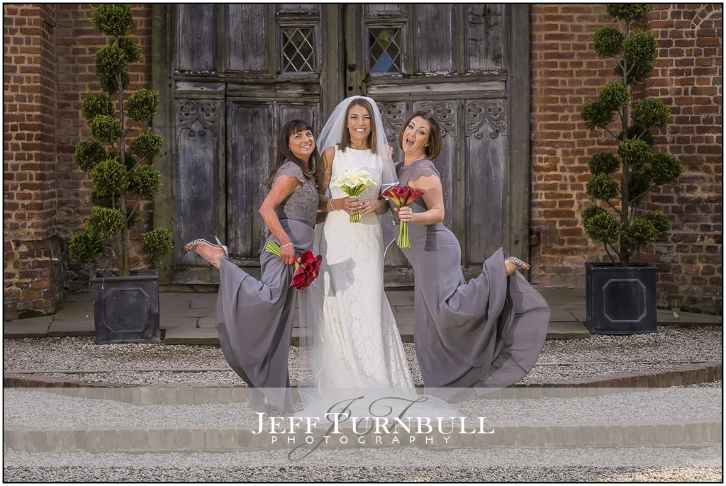 Bride and Bridesmaid Leez Priory