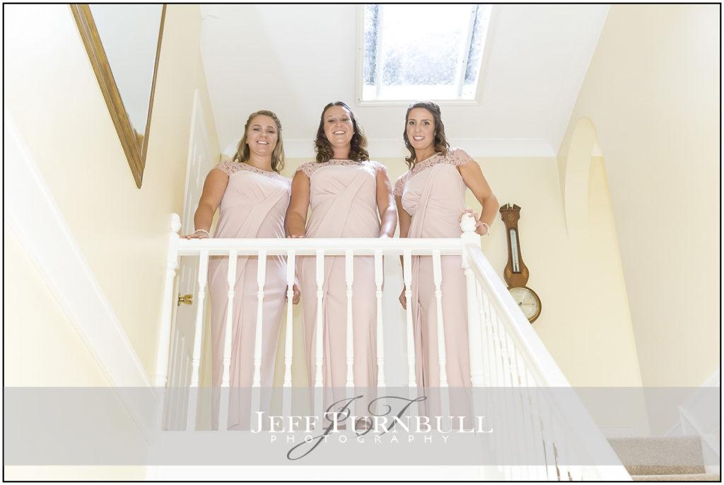 Pink Bridesmaids Dresses