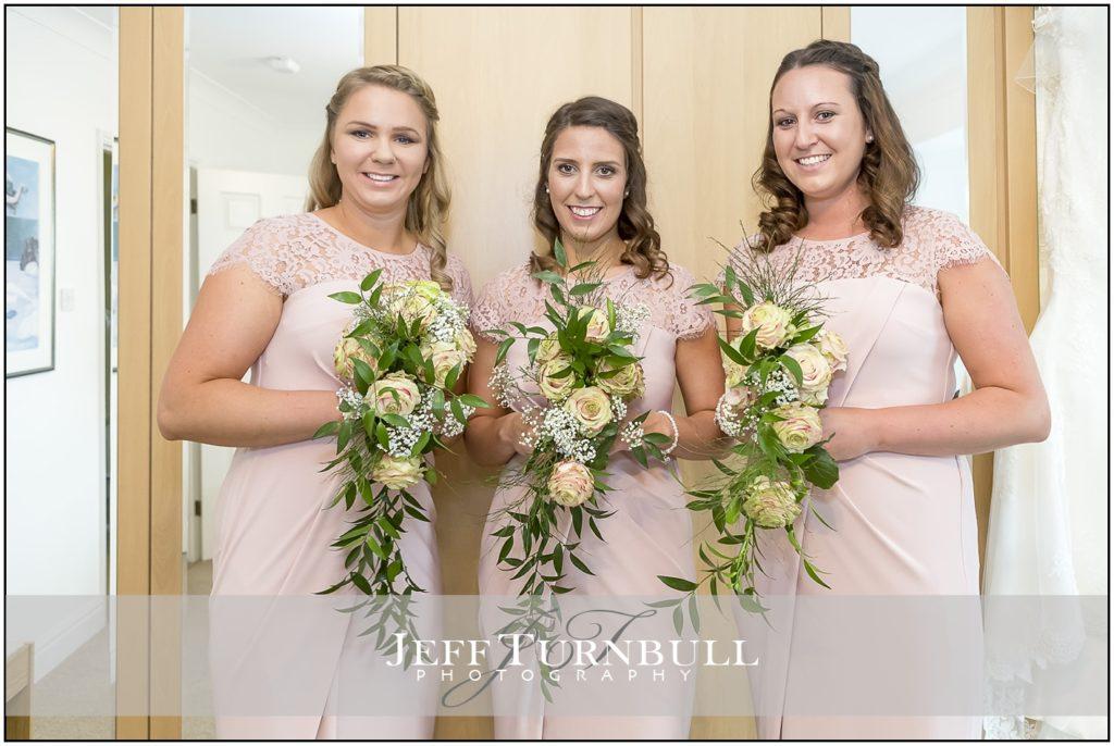 Bridesmaids with Boquets