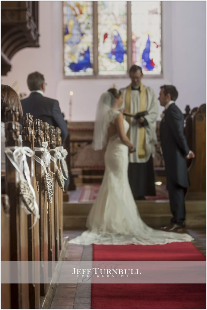 Wedding Ceremony St Mary's Church High Easter
