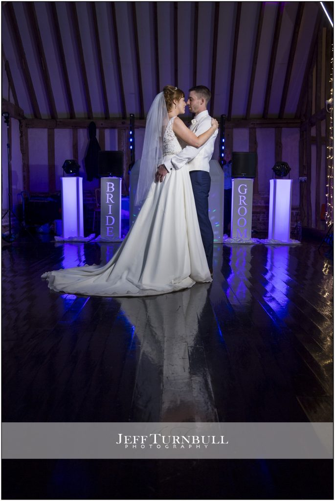 The First Dance Blake Hall Wedding Venue