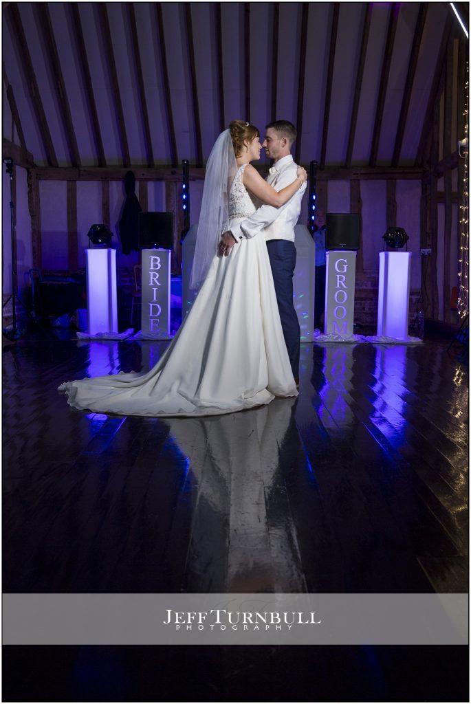 The First Dance Blake Hall Wedding Venue