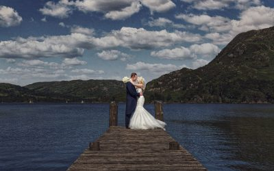 Inn on the Lake District Wedding Photography – Clara and Nick