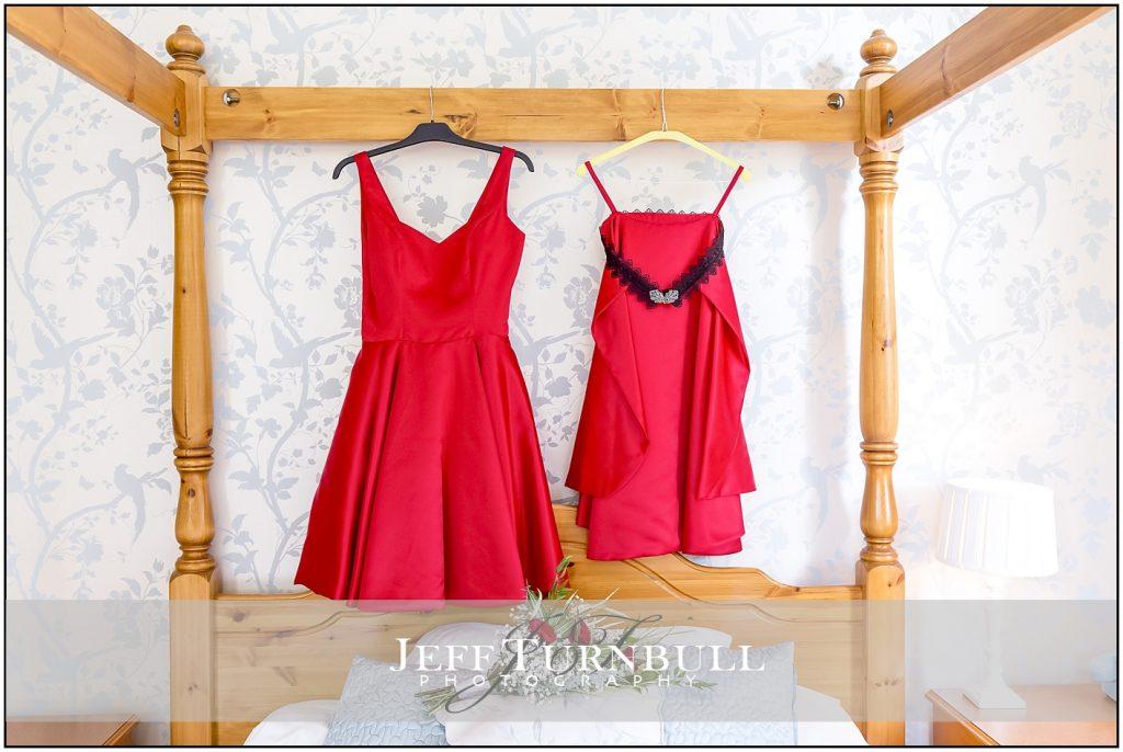 Red Wedding Dress   Jeff Turnbull Photography