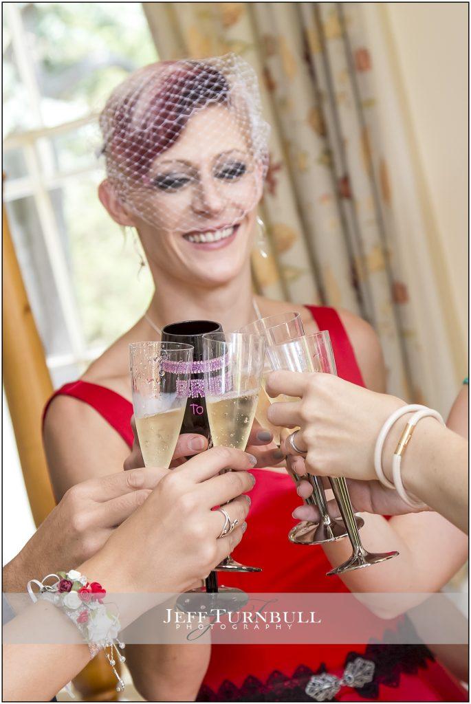 Champagne Wedding Photography Penyard House