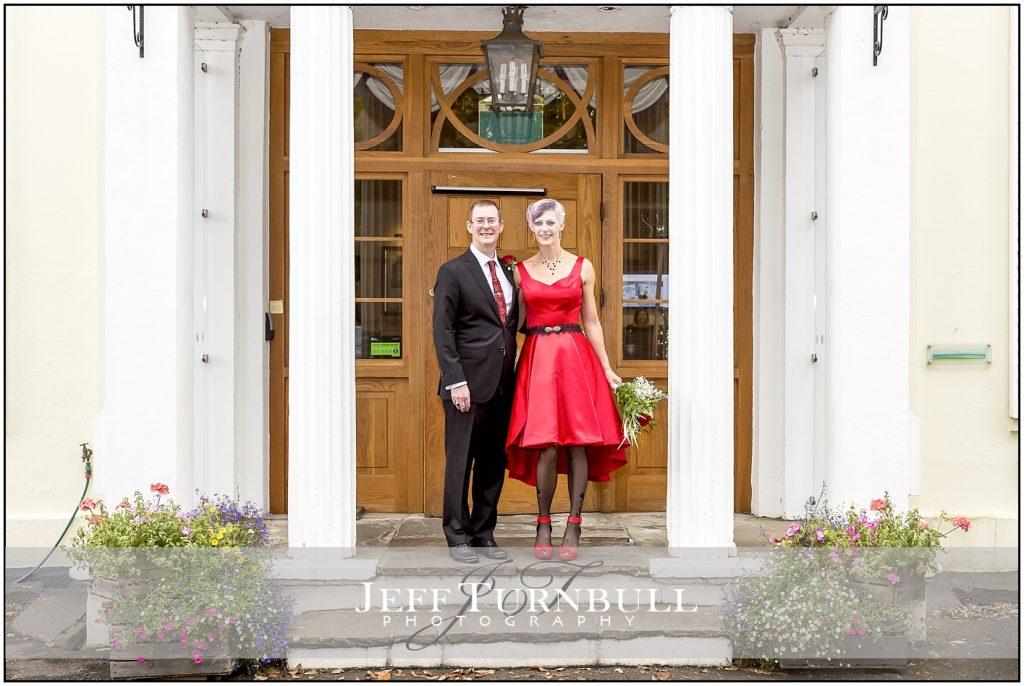 Bride and Groom Penyard House