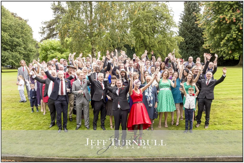 Wedding Group Photograph Penyard House