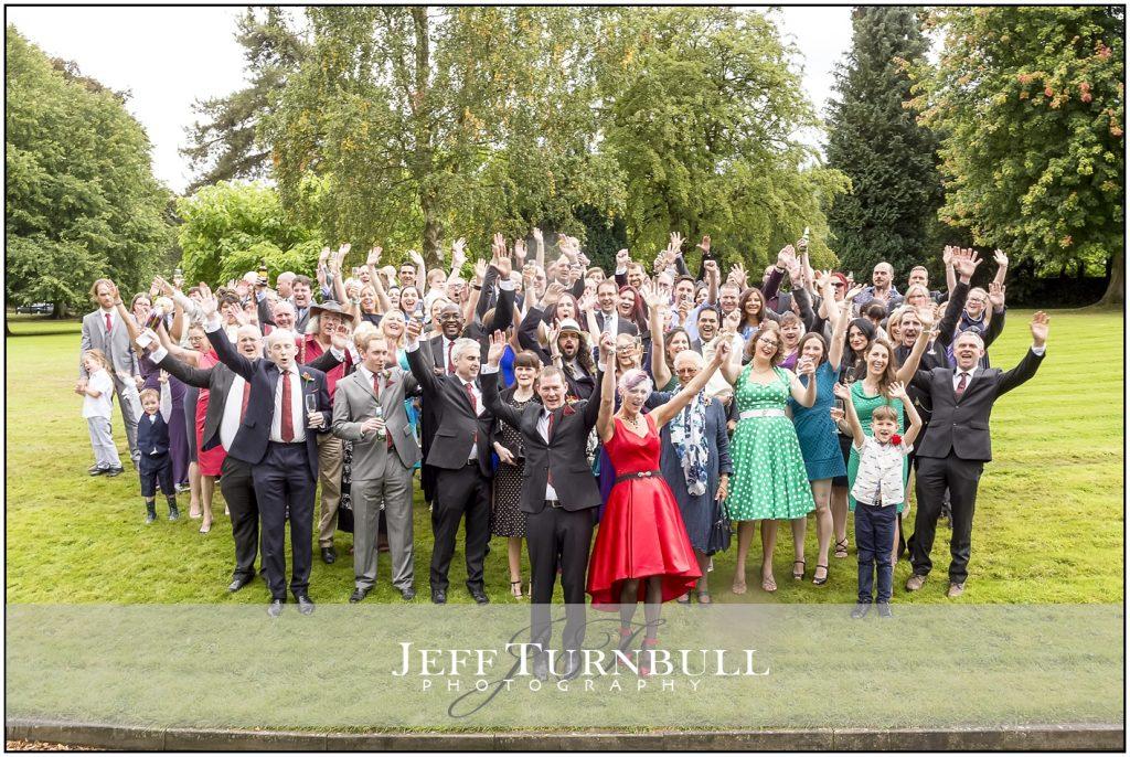 Wedding Group Photograph Penyard House