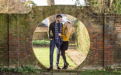 Engagement Photography Fanhams Hall – Lindsay and Adrian