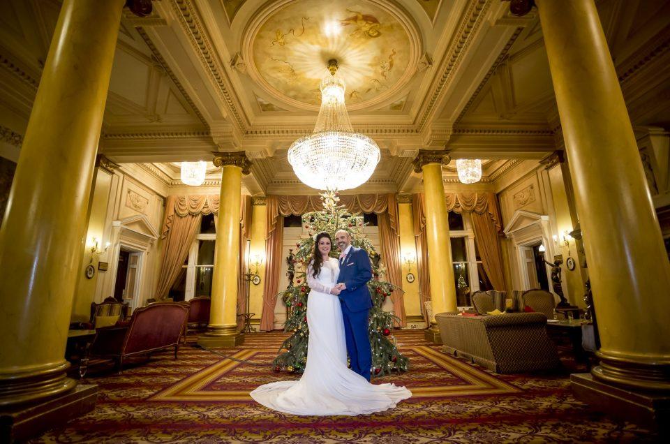 Down Hall Winter Wedding Photography: Lisa and Mark