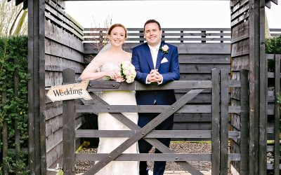 Maidens Barn Winter Wedding