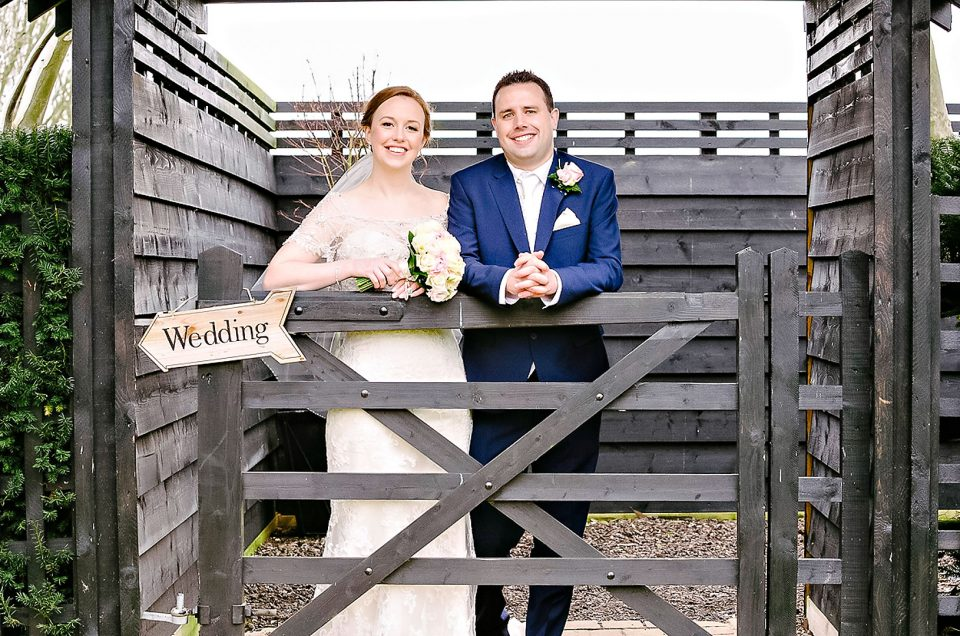Maidens Barn Winter Wedding