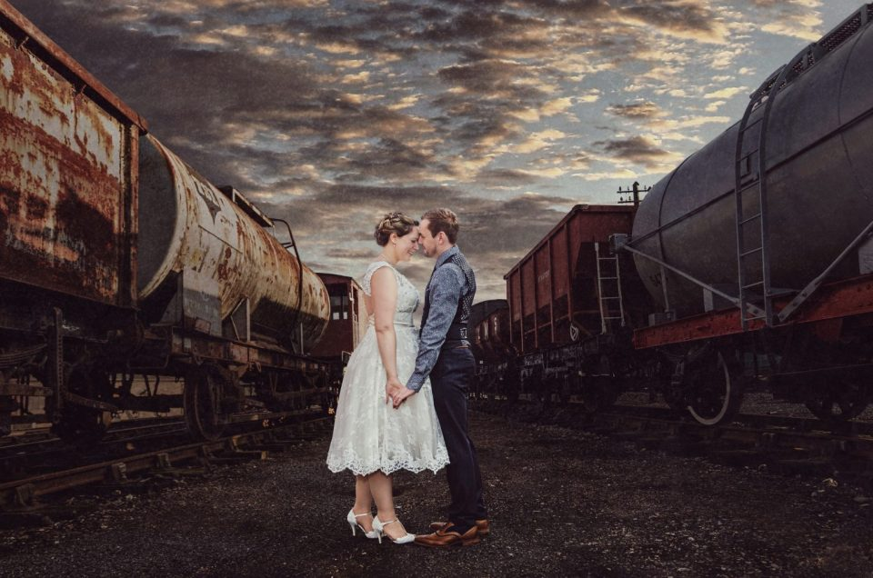 East Anglian Railway Museum Wedding – DIY British Vintage