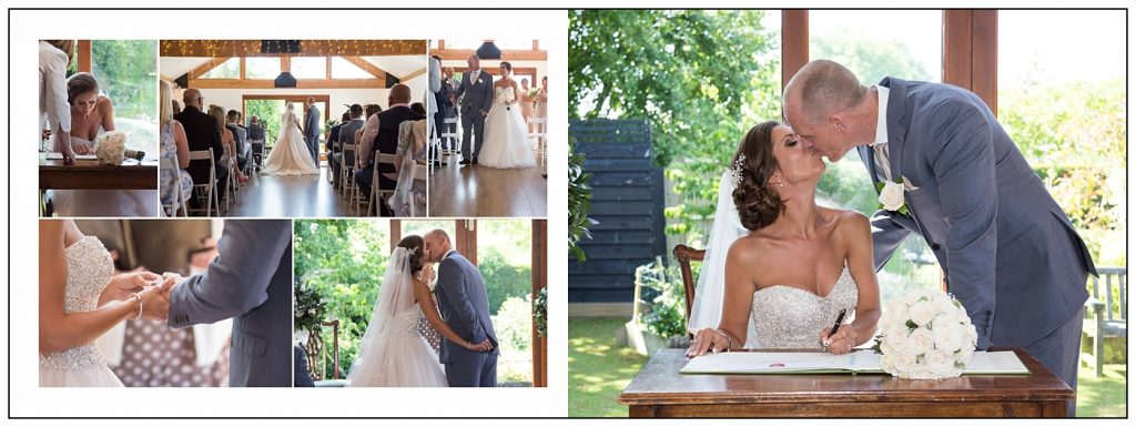 Maidens Barn Wedding Album