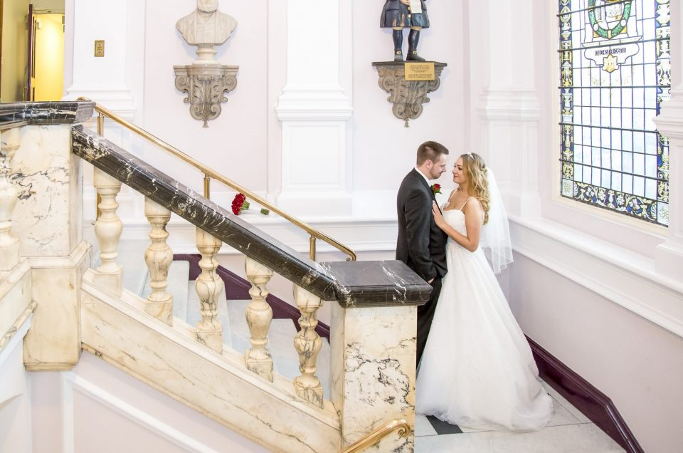 Colchester Town Hall Wedding Photography | Charlotte & Lewis