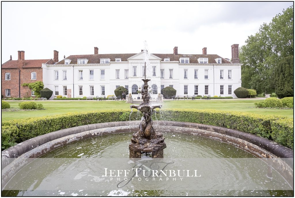 Gosfield Hall Fountain in the Garden