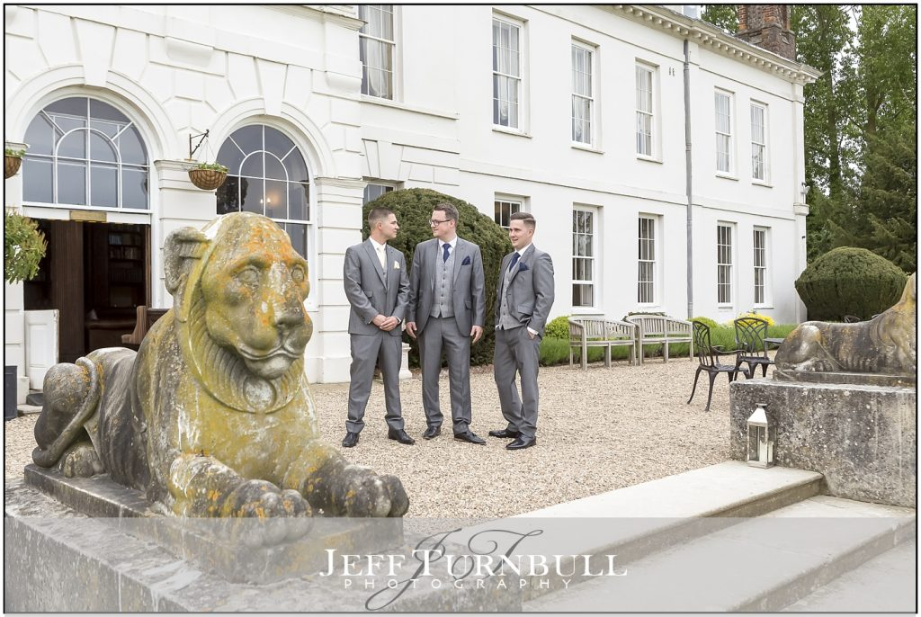 Gosfield Hall Wedding Photography Gromsmen