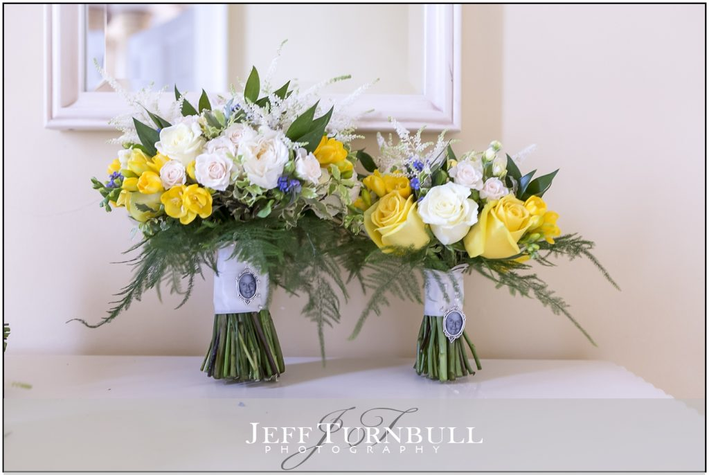 Flowers and Gosfield Hall