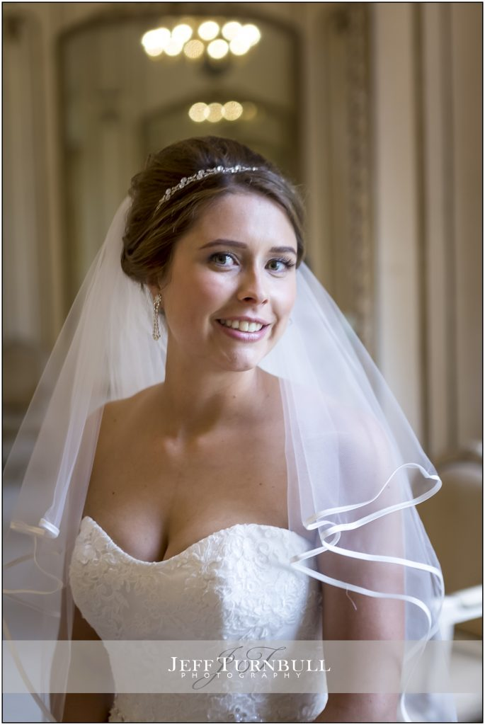 Bride Portrait Gosfield Hall