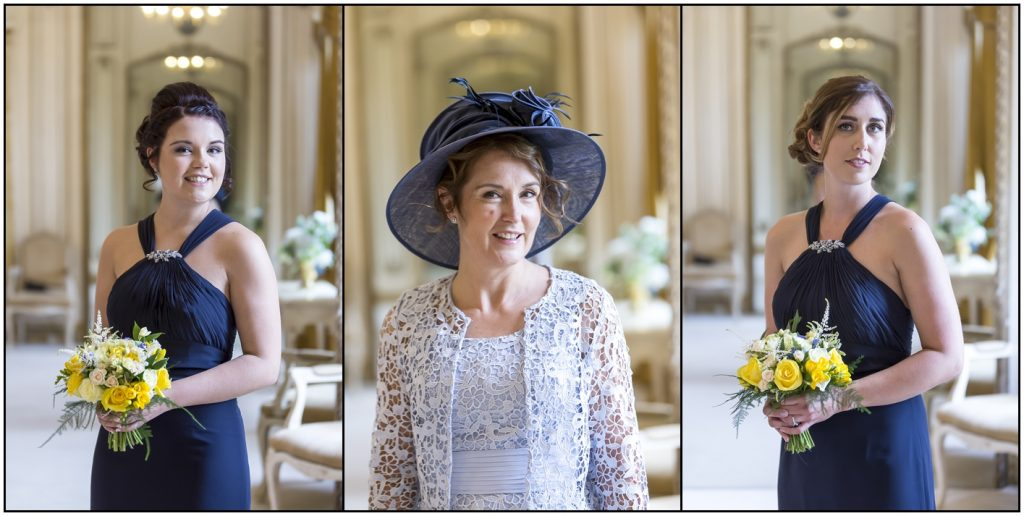 Mother and Bridesmaids Gosfield Hall