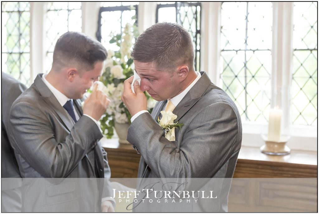 Emotional time for Groom and his Brother