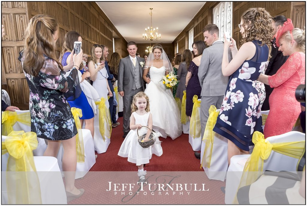Flower Girl at Gosfield Hall